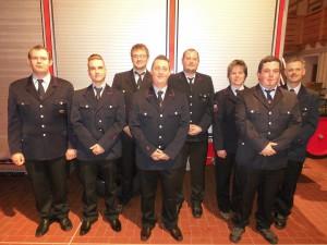 Neuer Feuerwehrausschuss Besenfeld