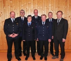 Neue Feuerwehrführung in Seewald