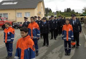 Feuerwehr Seewald beim Kreisfeuerwehrtag in Glatten 01