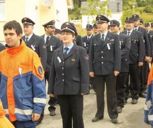 Feuerwehr Seewald beim Kreisfeuerwehrtag in Glatten
